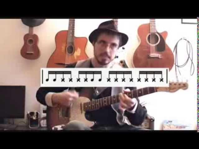 Initiation au funk - (Episode 1) Cours de guitare