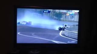 WEC Mark Webber Crash Sao Paulo