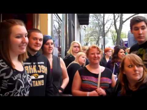 Fall out boy fans compete for a meet greet youtube fall out boy fans compete for a meet greet m4hsunfo