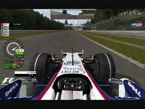 rfactor f1 2008 bmw sauber spa qualifications youtube. Black Bedroom Furniture Sets. Home Design Ideas