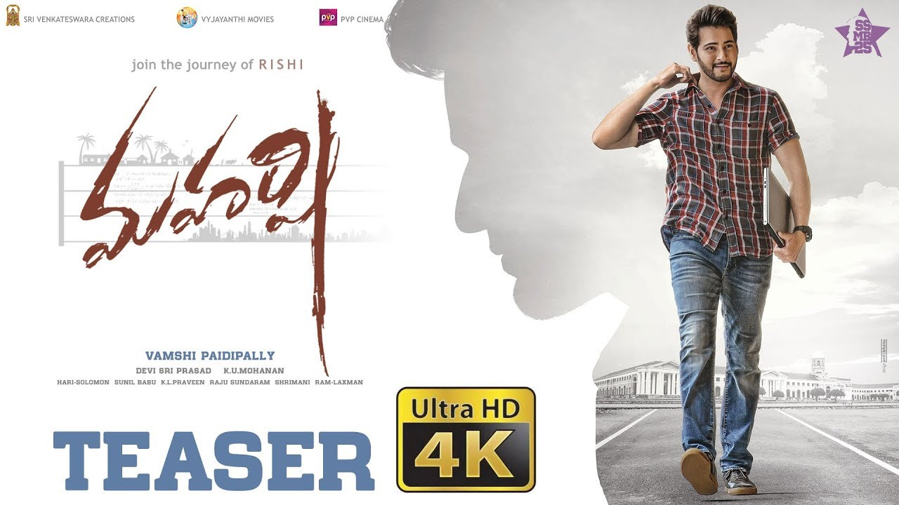 2dae696ec Mahesh Babu unveils Maharshi teaser on 43rd birthday. Watch video - Movies  News