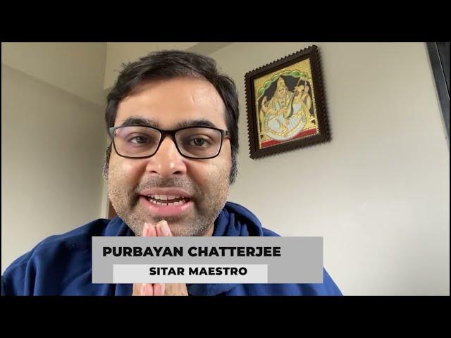 Yuva Swaranubhuti | Best wishes from Sitar Maestro Purbayan Chatterjee