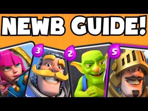 Clash Royale Low Level Arena Strategy Guide (Player Lvl 1-5 Tips) | UNDEFEATED BEST Card Deck (24-0)