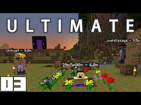Minecraft Mods FTB Ultimate - TWILIGHT FOREST !!! [E03] (HermitCraft Modded Server)