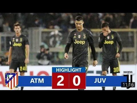 видео: Атлетико Мадрид vs Ювентус Лига чемпионов