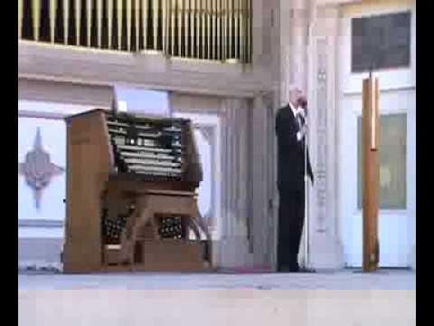 Spreckels Organ featuring Jarred 3 29 15 Part 1