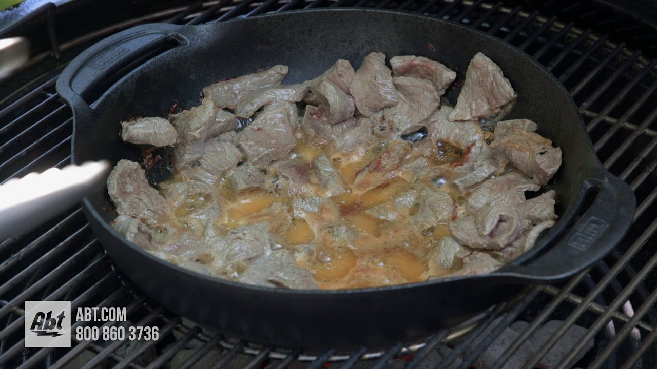 How To Cook Stir Fry On A Weber Grill Summit Charcoal YouTube - Abt weber grill