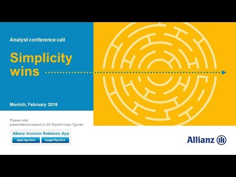 Allianz Group Analyst conference call on the financial resul