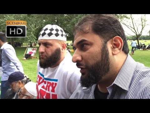 **Second Encounter** Adnan Vs Marwan Again | Speakers Corner | Hyde Park