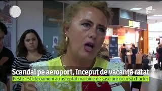 Peste 150 de români au avut o zi de coşmar, pe aeroportul din Cluj-Napoca