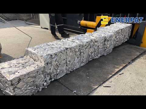 Waste Aluminum Extrusion Baler - Aluminum Scrap Baling Press Machine