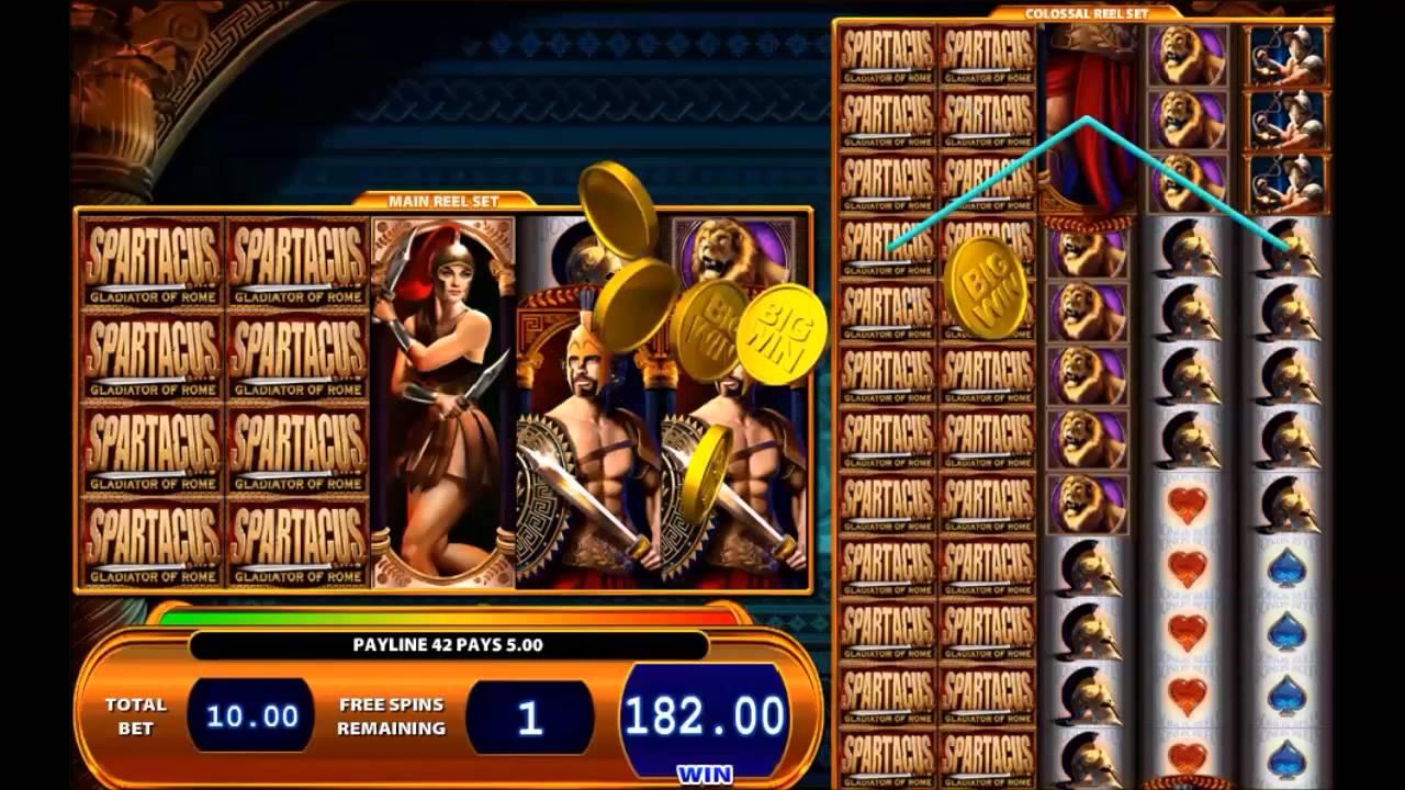 Spartacus slots online free geant casino cartable primaire