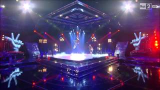 "The Voice IT | Serie 2 | Live 2 | Dylan Magon canta ""Pastime paradise"""