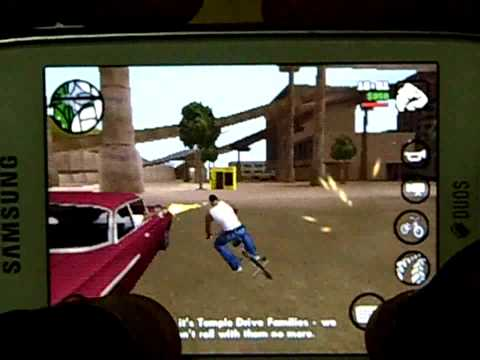 Grand Theft Auto San Andreas On Samsung Galaxy Star Duos