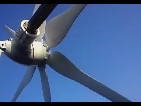 видео: Установка Китайского ветрогенератора вместо самоделки p300, полетели