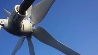 Установка Китайского ветрогенератора вместо самоделки p300, полетели