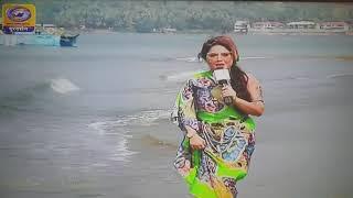 Ruchika Davar IFFI TV show- Miramar beach