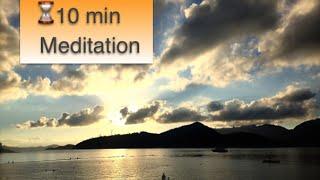 Angels Call ♬ Deep Inner Peace Meditation Music 10 Minutes - Relaxation, Healing, Chakra Balancing