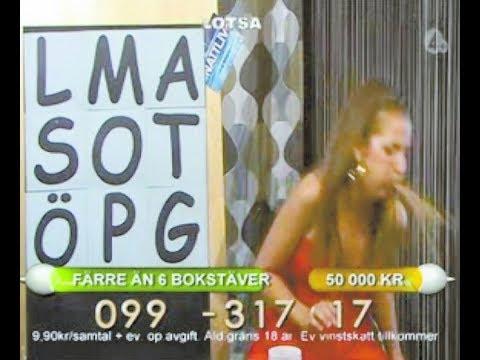 TV host pukes on air, a.k.a. Nattliv - mensvärk (english subtitles)