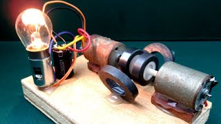 Homemade free energy generator - New Technology project Science at School