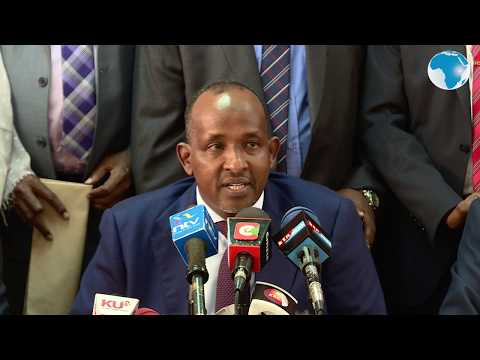 MP Aden Duale Rejects 2019 Census Results