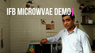 ifb microwave oven demo in English - microwave full function  ifb microwace 20sc2 / 23sc3 full uses