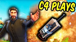 Epic C4 Plays! - Fortnite Battle Royale