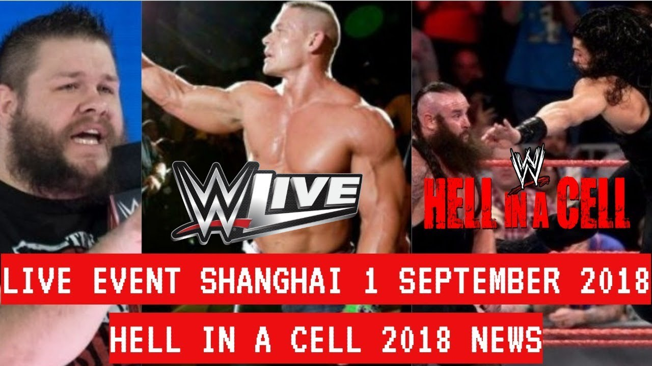 WWE LIVE EVENT SHANGHAI CHINA 1 SEPTEMBER 2018 - WWE CHINA LIVE EVENT 1 SEPTEMBER 2018 HIGHLIGHTS