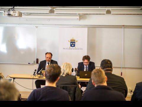 Åklagarens presskonferens om Kevin-fallet