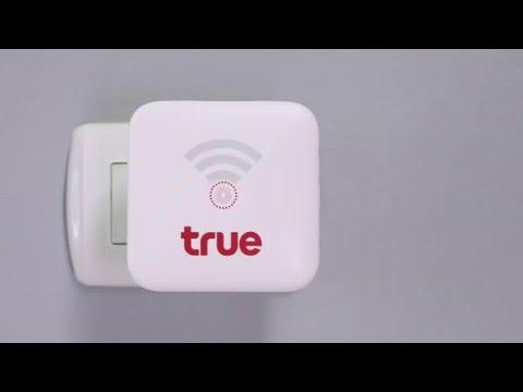 การติดตั้งเน็ตบ้านไร้สายทรู How to Set up True Home Wireless Boardband