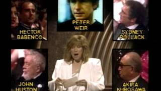Sydney Pollack Wins Best Directing: 1986 Oscars