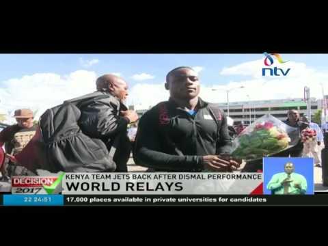 World relays: Kenya team jets back after dismal performance