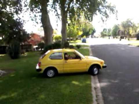 Bubble car handbrake slide - lol