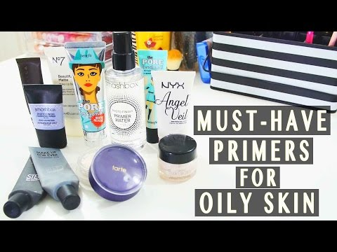 Top 10 ♡ Must-Have Makeup Primers for Oily/Combination Skin | FashionablyFayy