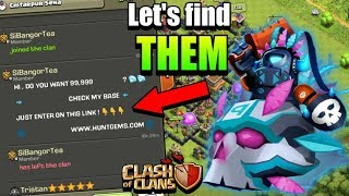 Let's find the strange people's creativity clash of clans in hindi