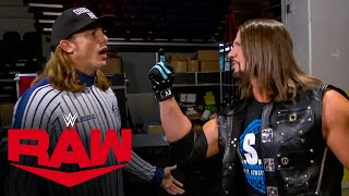 Riddle skips and hops under the skin of AJ Styles: Raw, Nov. 30, 2020