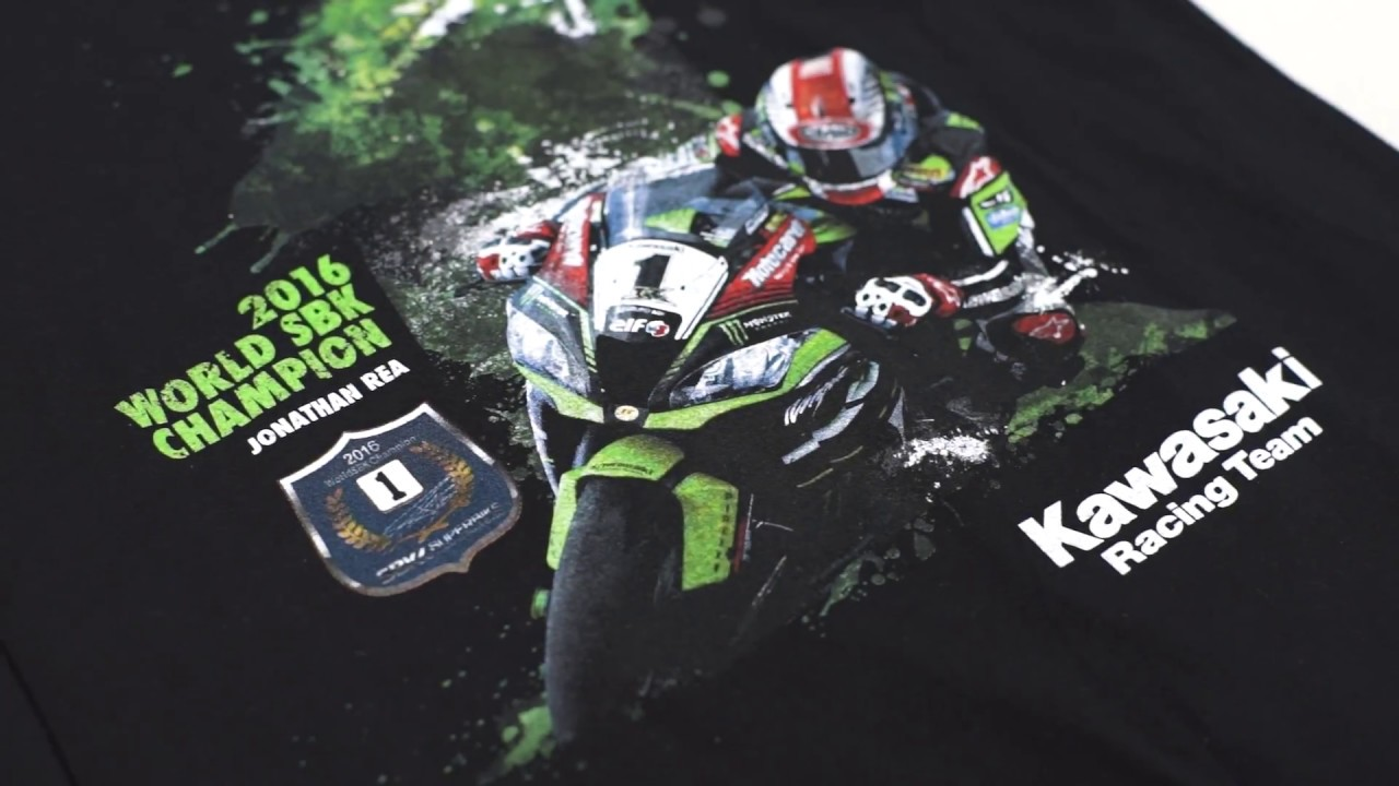 3c9cbf3b553 Kawasaki Racing Team Polo Shirt