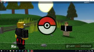 ROBLOX: Pokémon Zircon through the Peluu-2. Eka Hall brand and new Poksu