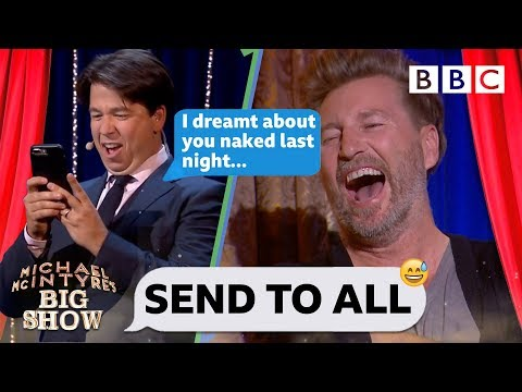 Send To All with Robbie Savage - Michael McIntyre's Big Show: Episode 5 - BBC One