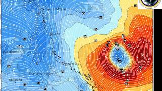 HSC QLD TROPICAL CYCLONE DEBBIE CAT 4 TO HIT CQLD/NQLD COAST 25/3/17