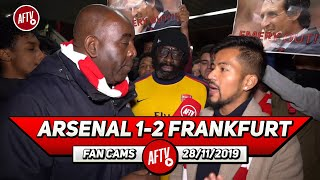 Arsenal 1-2 Frankfurt | Surely This Is The Final Nail In The Coffin For Emery!