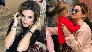 Ксения Бородина впервые показала лицо младшей дочери Теоны