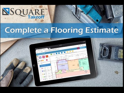 Flooring Takeoff and Estimate How To Video