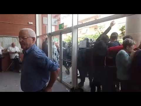 Càrrega policial a Sant Joan de Vilatorrada