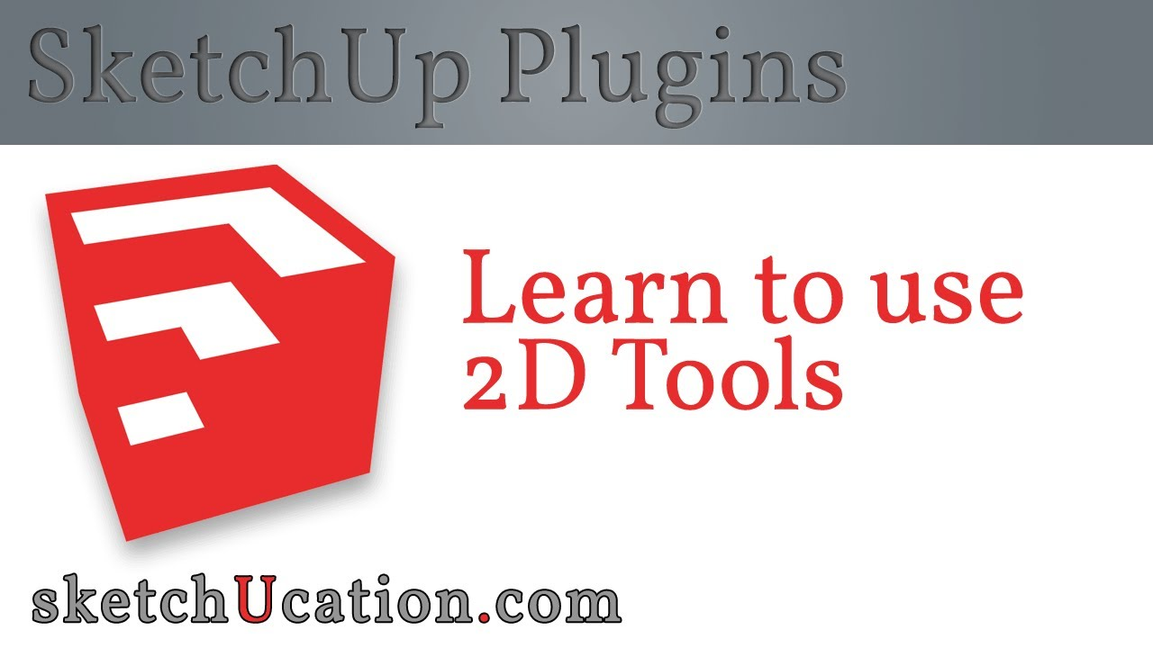 sc 1 st  YouTube & SketchUp Plugin Tutorial | 2D Tools - YouTube