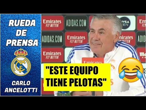 REAL MADRID. Ancelotti: Este equipo tiene pelotas. Los Merengues reciben al Mallorca | La Liga