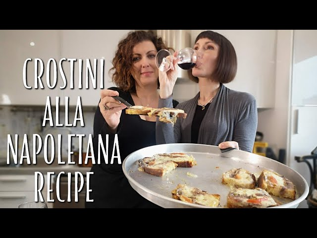 Easy and Delicious Italian Crostini Recipe - Foodie Sisters in Italy