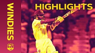 Dowrich Hits a Half Century - Windies v Sri Lanka 3rd Test Day 1 2018 | Highlights