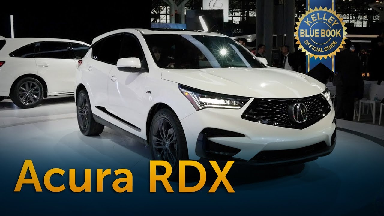 2019 acura rdx - 2018 new york auto show - youtube