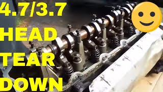 How To Tear Down The Head On A 4.7 Jeep Engine